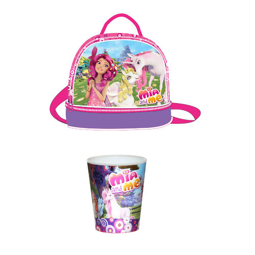 Mia and Me Bundle Lunchbag Trinkbecher